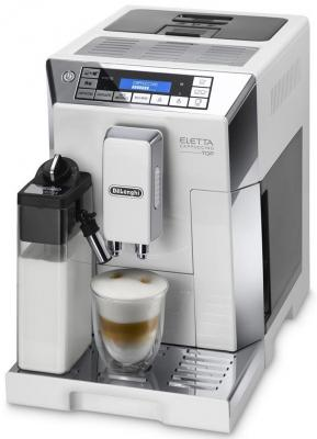 Кофемашина DeLonghi ECAM 45.760.W белый delonghi primadonna elite ecam 650 75 ms кофемашина