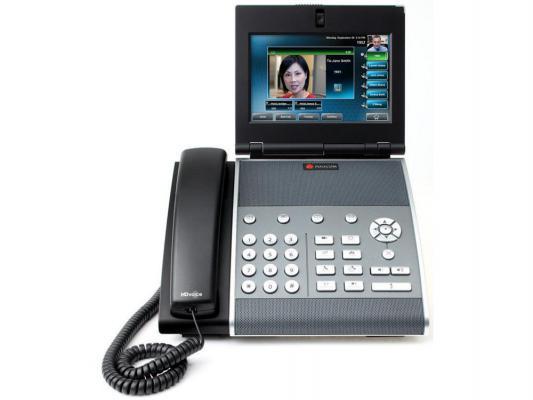 Телефон IP Polycom VVX 1500 D SIP для конференций черный 2200-18064-114 шлюз voip d link dvg 6004s 4xfxo rj 11 4xlan 1xwan 10 100mbps sip