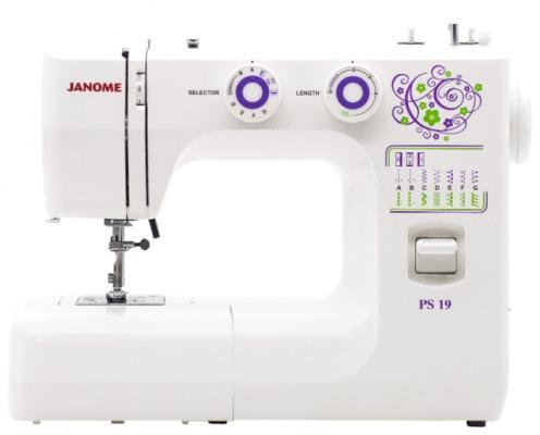 Швейная машина Janome PS-19 белый