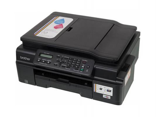 МФУ струйное Brother MFC-J200 принтер/сканер/копир/факс, A4, 11/6 стр/мин, ADF, USB, WiFi