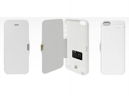 Чехол-аккумулятор EXEQ HelpinG-iF03 для iPhone 5 iPhone 5S iPhone 5C белый