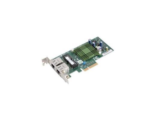 Сетевой адаптер SuperMicro AOC-SG-I2 10/100/1000 Мбит/c PCI-E 2xRJ-45