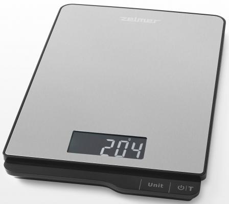 Весы кухонные Zelmer ZKS15500 серый