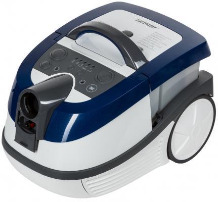 Пылесос Zelmer 919.0ST с мешком сухая/влажная уборка 1600Вт белый/синий ZVC752STRU