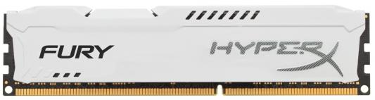 Память DDR3 8Gb (pc-15000) 1866MHz Kingston HyperX Fury White Series CL10 <Retail> (HX318C10FW/8)