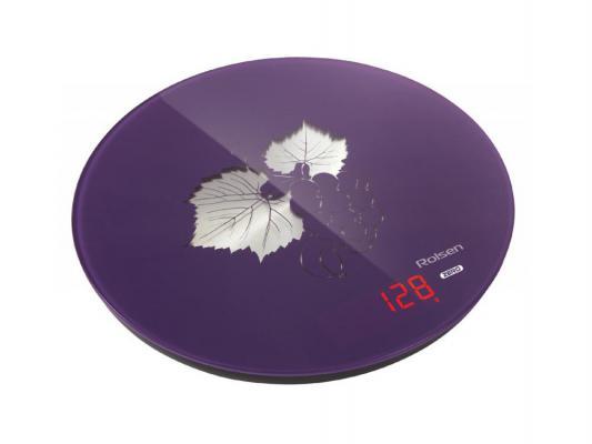 Весы кухонные Rolsen KS-2913 фиолетовый