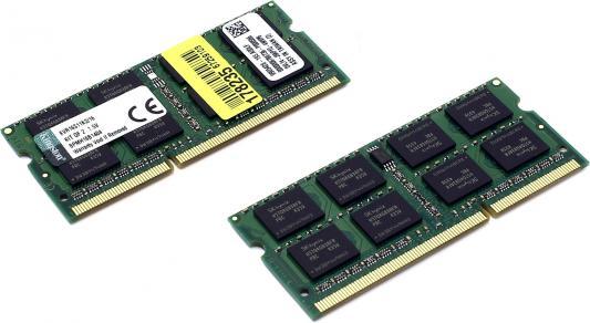 Оперативная память для ноутбука 16Gb (2x8Gb) PC3-12800 1600MHz DDR3 SO-DIMM CL11 Kingston KVR16S11K2/16