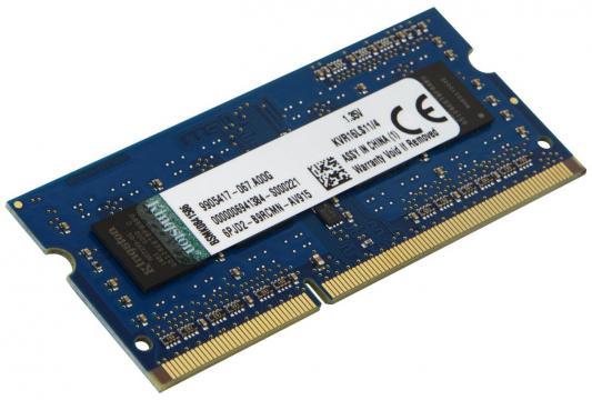 Бренд: Kingston, Тип модуля памяти: DDR3, Объём: 4 Гб, Рабочая частота: 1600, Количество модулей памяти в комплекте: 1