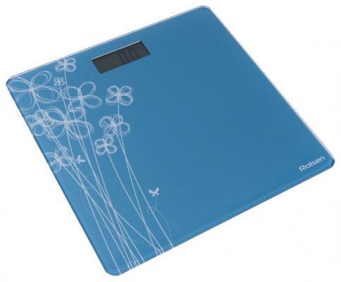 Весы напольные Rolsen RSL1804 бежевый голубой