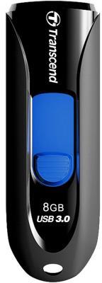 Флешка USB 8Gb Transcend Jetflash 790 TS8GJF790K черный