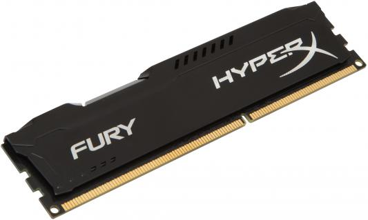 Память DDR3 8Gb (pc-15000) 1866MHz Kingston HyperX Fury Black Series CL10 <Retail> (HX318C10FB/8)