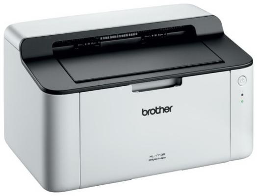 Фото - Принтер Brother HL-1110R ч/б A4 20ppm 2400x600dpi USB принтер brother hl l2300dr ч б a4 26ppm 2400x600dpi дуплекс usb