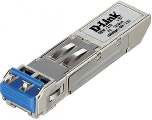Трансивер сетевой D-Link DEM-210/B1 100BASE-FX Single-Mode 15KM SFP Transceiver