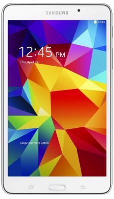 "Планшет Samsung Galaxy Tab 4 7"" 1280x800 PXA1088 1.2GHz 1Gb 8Gb 3G WiFi Bluetooth GPS Android  4.2 белый SM-T231NZWASER"