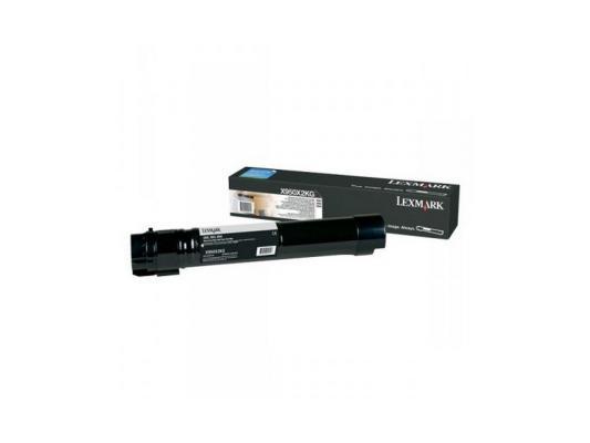 Картридж Lexmark X950X2KG для X95x черный 32000стр картридж lexmark высокой ёмкости