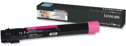 Картридж Lexmark X950X2MG для X95x пурпурный 22000стр