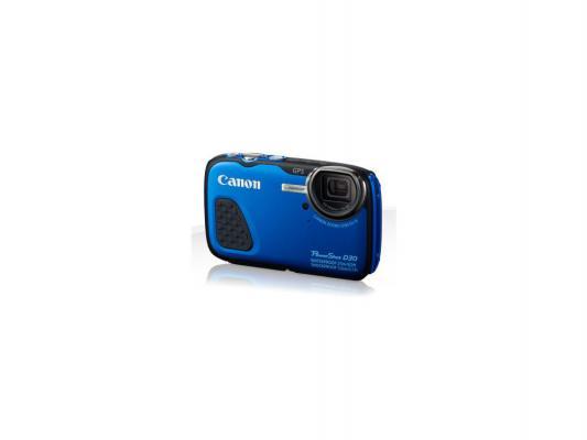 Фотоаппарат Canon PowerShot D30 12.1Mp 5x Zoom синий 9337B002