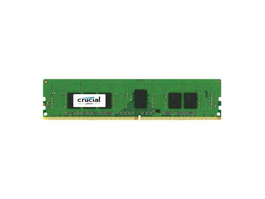 Оперативная память 4Gb PC4-17000 2133MHz DDR4 RDIMM Crucial ECC Reg 1.2V CT4G4RFS8213 Retail память ddr4 huawei 06200212 8gb rdimm ecc reg