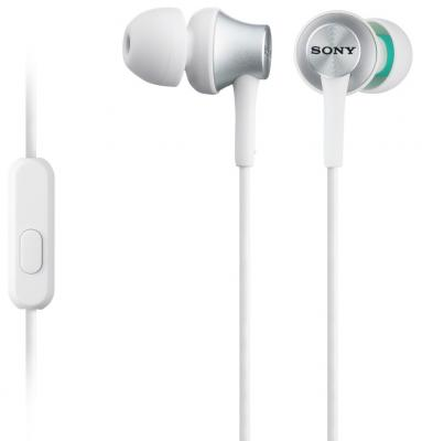 Наушники Sony MDR-EX450APW белый цена