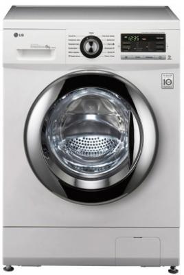 Стиральная машина LG F1096TD3 белый стиральная машина lg fh0h4sdn0