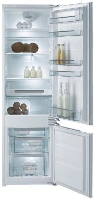 Встраиваемый холодильник Gorenje RKI5181KW белый