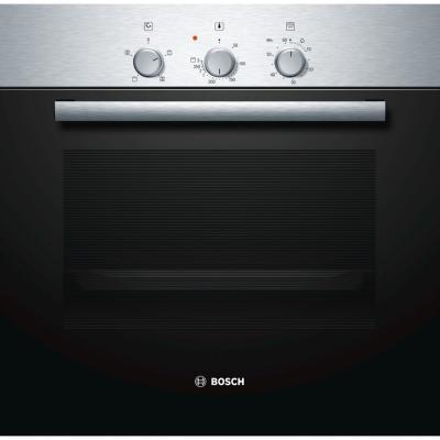 Купить со скидкой Электрический шкаф Bosch HBN211E4 серебристый