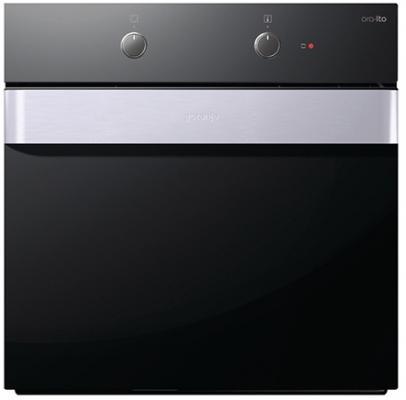 Встраиваемая электрическая духовка Gorenje BO71-ORA-X серый/черный