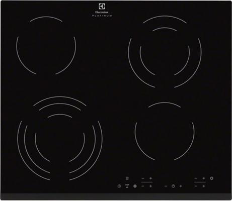 Варочная панель электрическая Electrolux EHF96343FK черный варочная панель электрическая electrolux ehh6340fok черный