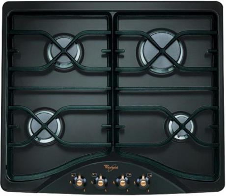 Варочная панель газовая Whirlpool AKM 528 NA черный whirlpool akр 295 na