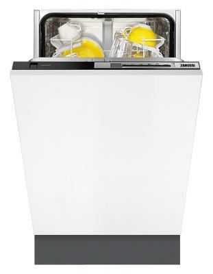 Посудомоечная машина Zanussi ZDV91500FA белый жёлтый