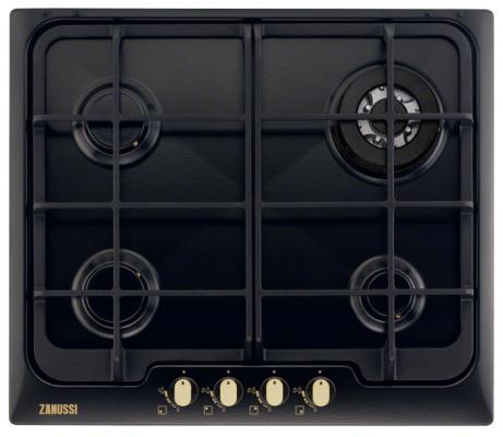 Варочная панель газовая Zanussi ZGG 966424 C черный
