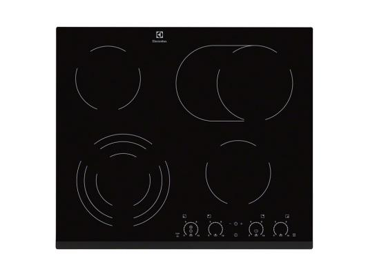 Варочная панель электрическая Electrolux EHF56747FK черный варочная панель электрическая electrolux ehh6340fok черный
