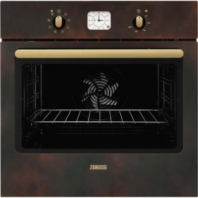 Электрический шкаф Zanussi ZOB 53811PR коричневый