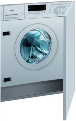 Стиральная машина встраиваемая Whirlpool AWOC 0714 белый стиральная машина siemens wm 10 n 040 oe