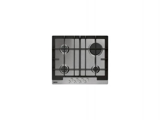 Варочная панель газовая Zanussi ZGG66414XA серебристый