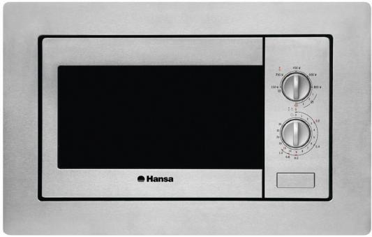СВЧ Hansa AMM20BIMH 800 Вт серебристый