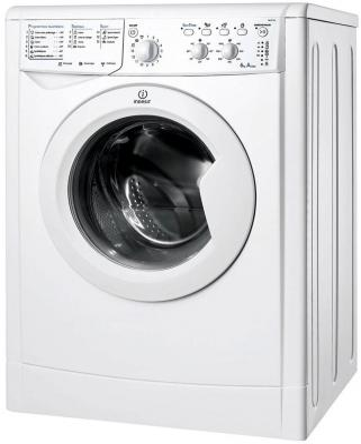 Стиральная машина Indesit IWSC 6105 CIS белый футболка женская calvin klein jeans цвет зеленый j20j206438 3480 размер xs 40 42