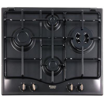 Варочная панель газовая Ariston 7HPC 640 T (AN) R/HA черный