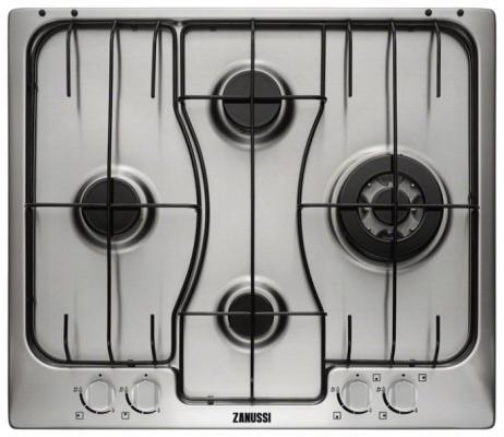 Варочная панель газовая Zanussi ZGX565424X коричневый