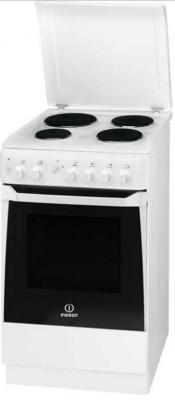 Электрическая плита Indesit KN1E17A(W)/RU белый