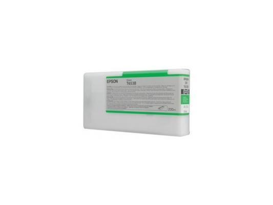 Картридж Epson C13T653B00 для Stylus Pro 4900 зеленый цена