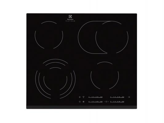 Варочная панель электрическая Electrolux EHF96547FK черный варочная панель electrolux ehf96547fk hi light независимая черный