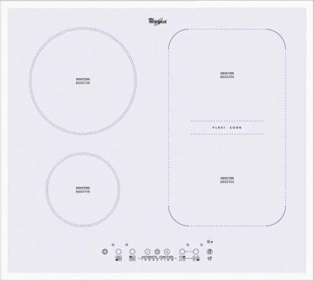 Варочная панель электрическая Whirlpool ACM 808/BA/WH белый варочная панель электрическая whirlpool akt 8130 lx черный