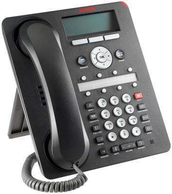 Телефон IP Avaya 1408 черный 700469851