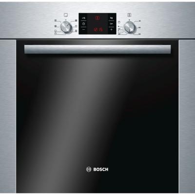 Электрический шкаф Bosch HBA24U250 серебристый электрический духовой шкаф bosch hba24u250