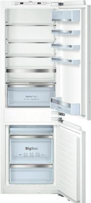 все цены на Встраиваемый холодильник Bosch KIN86AF30R белый онлайн
