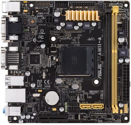 Материнская плата для ПК ASUS AM1I-A Socket AM1 AMD AM1 2xDDR3 1xPCI-E 4x 2xSATAIII mini-ITX Retail