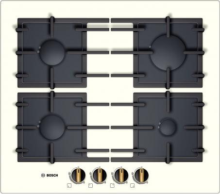 Варочная панель газовая Bosch PPP611B91E черный
