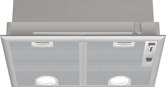 Вытяжка встраиваемая Bosch DHL545S серебристый вытяжка bosch dwa06e651