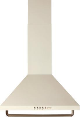 Вытяжка каминная Gorenje DK63CLI бежевый цена